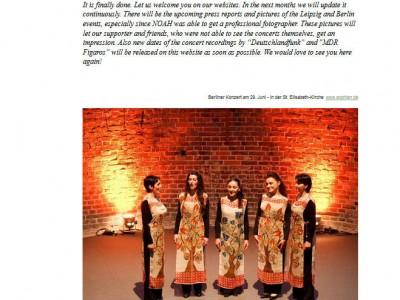 Luys Screenshot Webseite